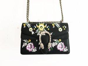 handtasche im gucci style / vegan leather / romanticlook / boho / hippie / flowers