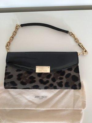 Handtasche im Leo-Look