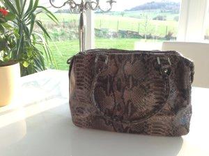 Bolso negro-marrón grisáceo