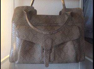 Handtasche im Schlangenlederlook