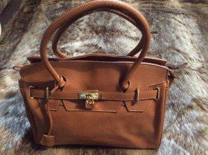Handtasche im Stil der Birkin Bag
