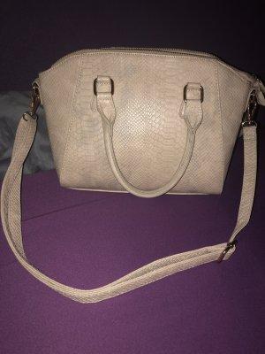 Handtasche in beige