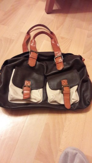 Handtasche in brauntönen
