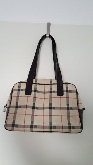 Handtasche in Burberry Muster von ESPRIT