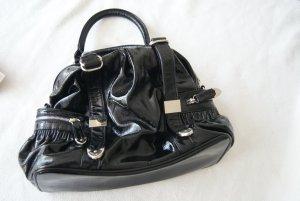 Handtasche in Lackoptik