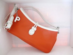 Handtasche in Orange // PICARD
