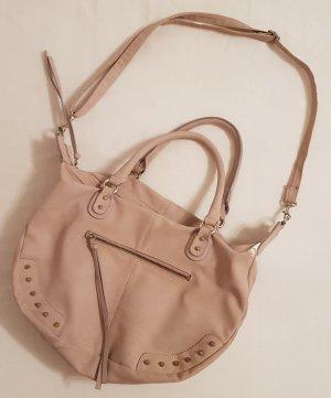 Handtasche in puderrosa