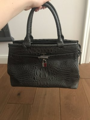 Handtasche in Schlangenlederoptik