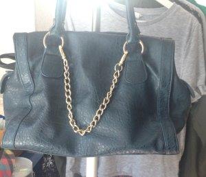 Handtasche in Türkis von Pieces