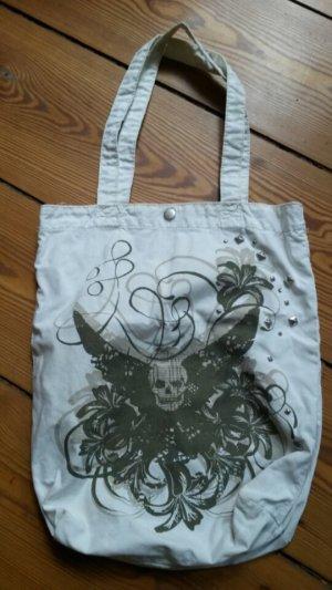 H&M Burlap Bag multicolored
