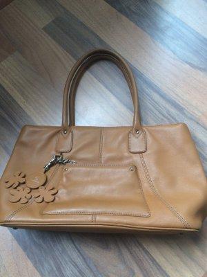 Handtasche Kunstleder Farbe Braun