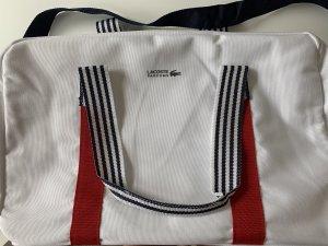 Lacoste Sports Bag white