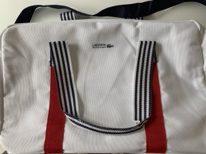 Lacoste Sports Bag white