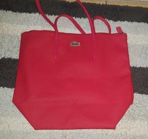 Handtasche Lacoste rot