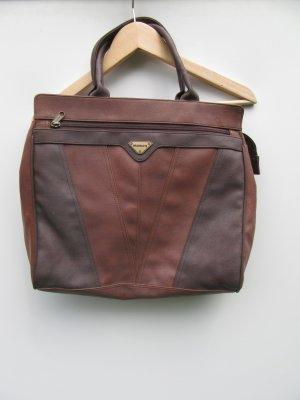 Handtasche Leder Harolds Vintage Retro braun