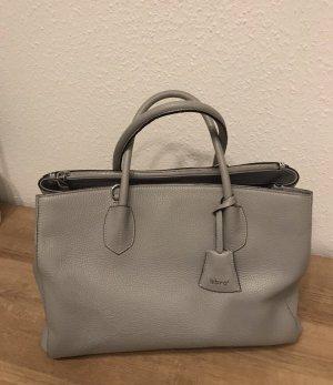 Handtasche, Leder hellgrau - Marke abro