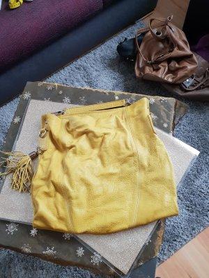 Handtasche Leder neuwertig