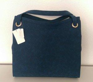 SIlvio Tossi Shoulder Bag blue leather