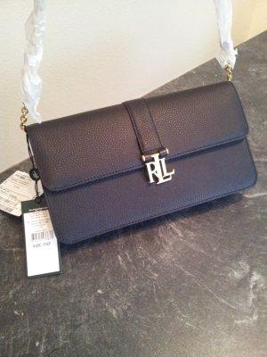 Handtasche Leder Tasche Ralph Lauren NP 200,- Euro
