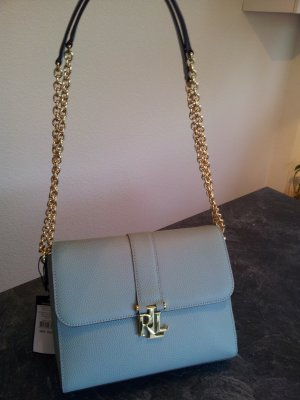 Handtasche Leder Tasche Ralph Lauren NP 229,- Euro