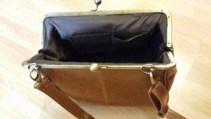 Vintage Borsa a spalla marrone-color cammello