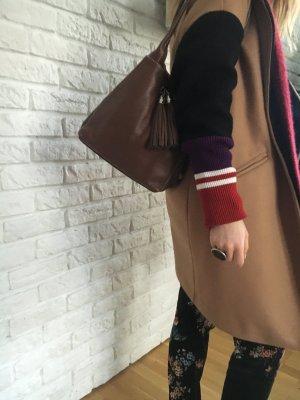 Handtasche Ledertasche Henkeltasche braun TOP