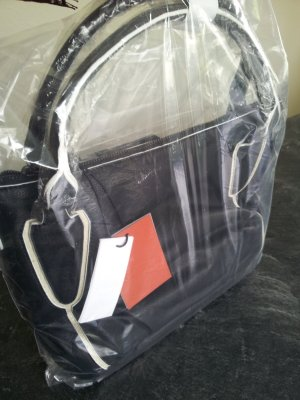Liebeskind Berlin Handbag black-white leather