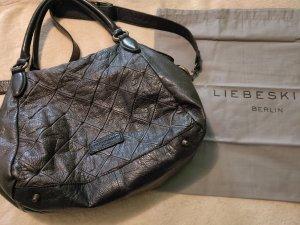 Handtasche Liebeskind schwarz Leder