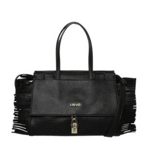 Liu jo Fringed Bag black