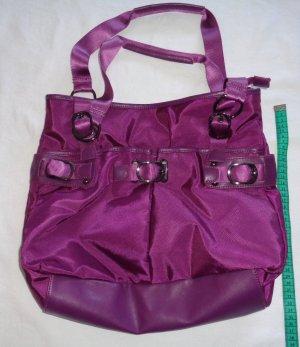Handtasche Magenta Beere