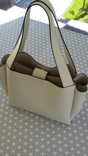 Handtasche Mango Beige