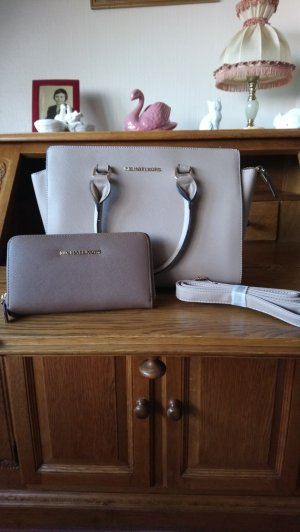 Michael Kors Carry Bag grey brown leather