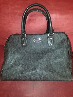 Michael Kors Frame Bag black leather