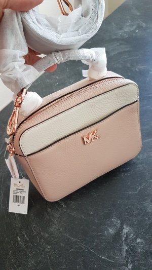 Michael Kors Handbag light pink-natural white leather