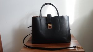 H&M Handtas zwart-goud