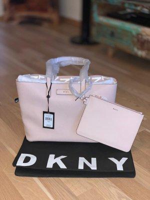 DKNY Borsetta rosa pallido-bianco