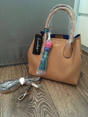 Handtasche neu braun shopper Umhängetasche Designer Fashion Style lovlet
