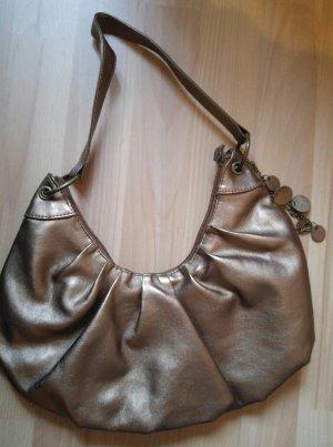 Handtasche NEU bronze