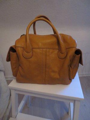 Handtasche ocker, senfgelb von H&M