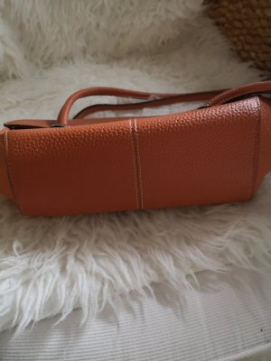 Handtasche orange.