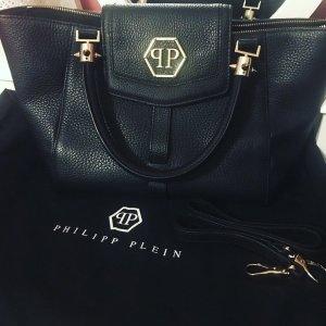 Handtasche Philipp Plein Damen Leder Schwarz