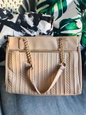 Handtasche  rosa Kette Gold