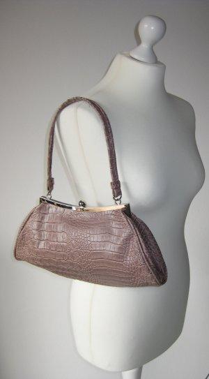 Handtasche Rosé, Silber