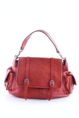 Handtasche rostrot Casual-Look