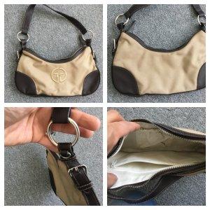 Firenze Shoulder Bag brown-natural white mixture fibre