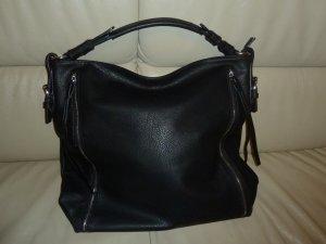 Handtasche Schultertasche Shopper schwarz Neu