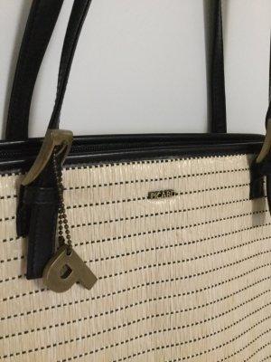 Handtasche Schultertasche von Picard Hell Schwarz 22x32cm