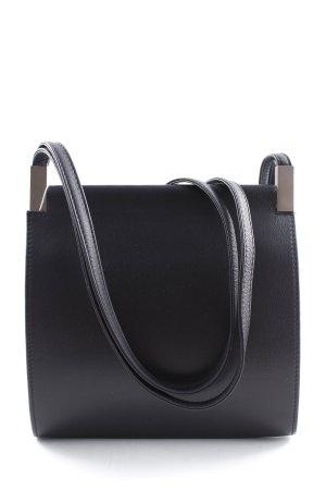 Handtasche schwarz-dunkelblau Casual-Look
