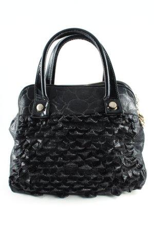 Handtasche schwarz extravaganter Stil