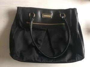 Handtasche schwarz-gold Calvin Klein